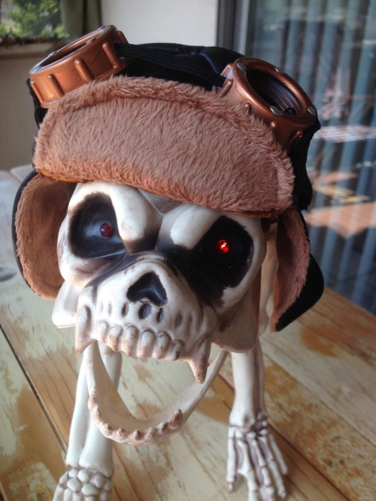 Aviator Dog Cap Hounds Of Hell Boutique