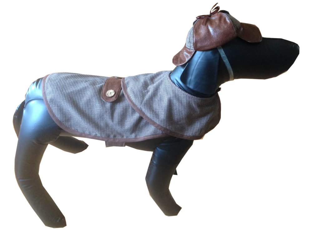 8918d80bac761 Sherlock Houndstooth Dog Costume